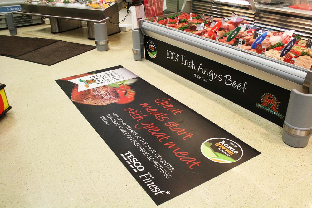 Floor Graphics Promote Your Brand In Store Digital