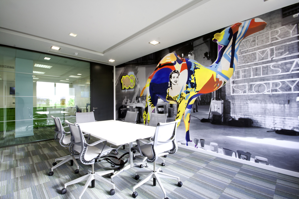 Interior Graphics For Wall And Ceiling Gp Digital Print