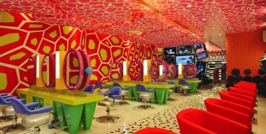 Printed-ceiling-graphics-digimura-style-club-Salon-dublin