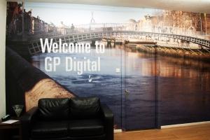 Reception-wall-vinyl-graphics