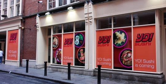 Printed window graphic Panels