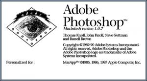 Photoshop 1990