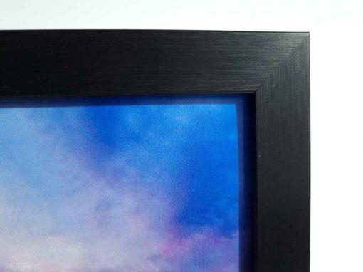 Modern Black Frame closeup