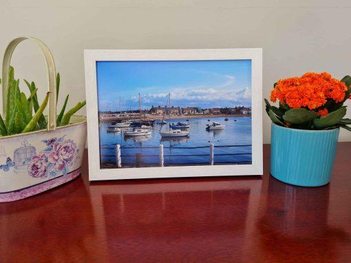 Skerries Harbour Modern Box Frame