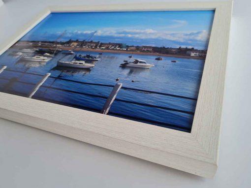 modern box frame skerries harbour