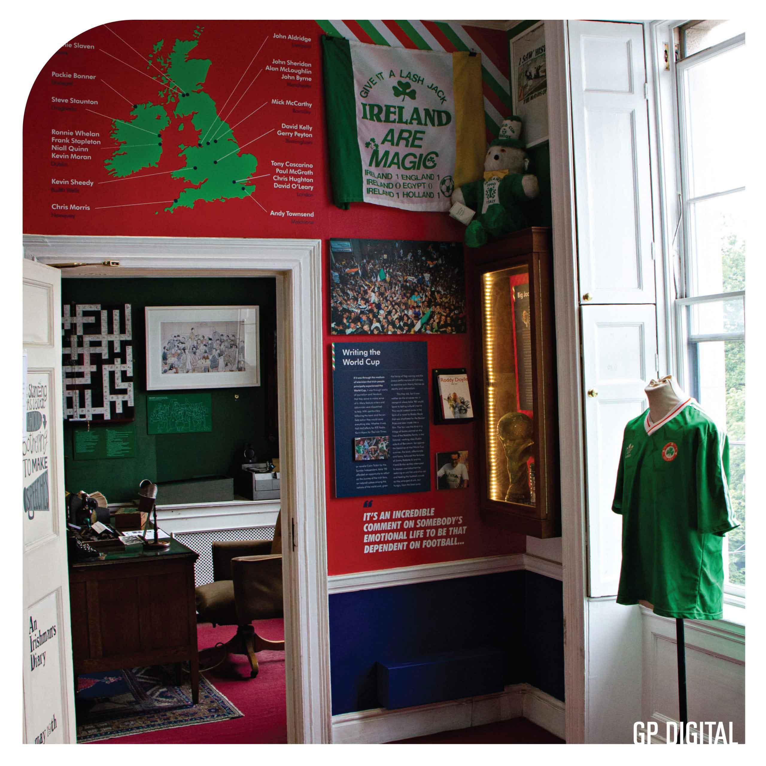 LMOD Italia 90 Green Jersey