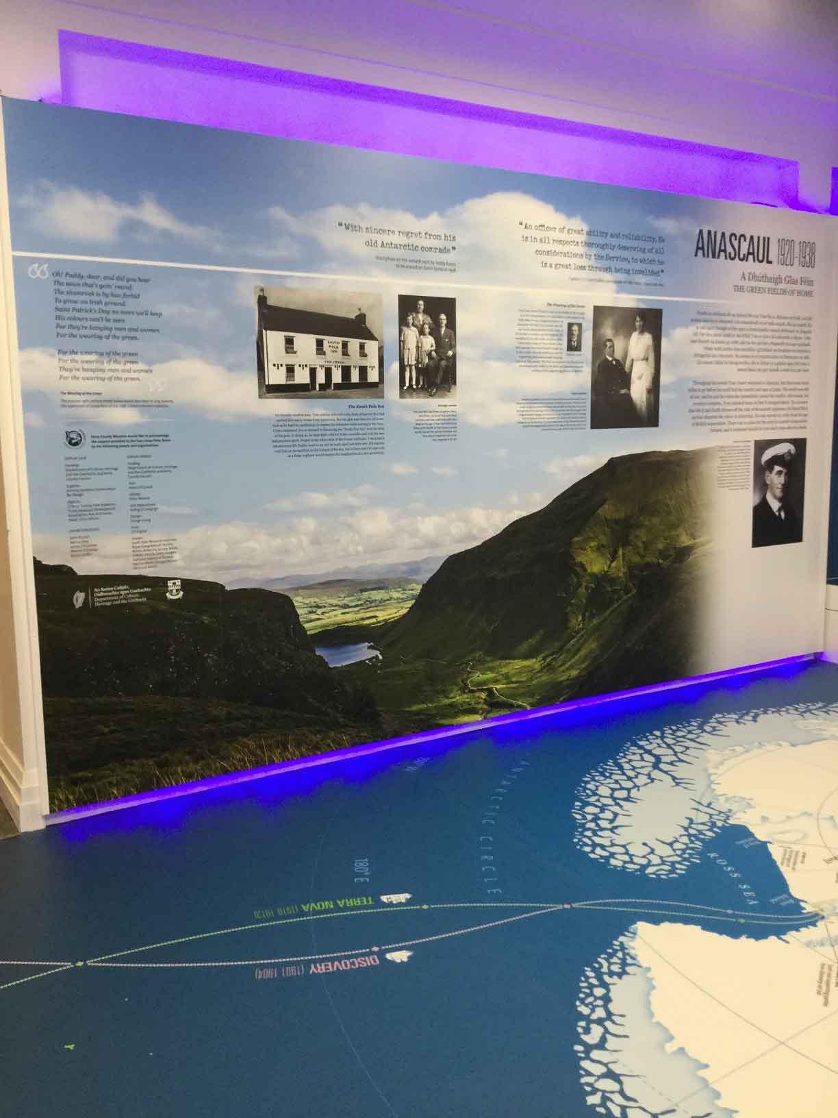 Kerry Museum Tom Crean Anascaul display