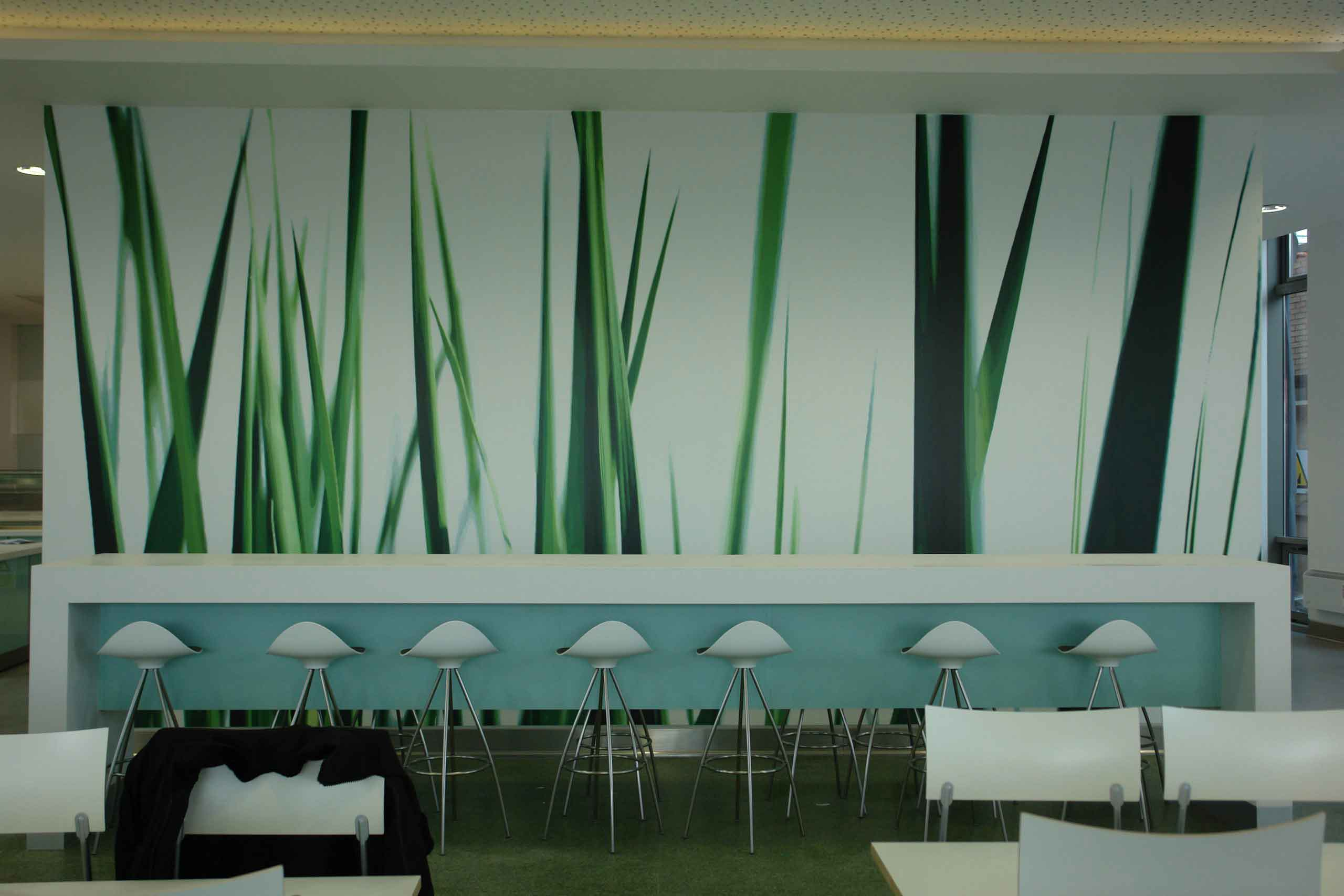 Office Wall Graphic Grass Wall