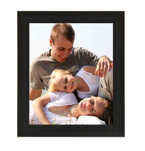 Tivoli Picture Frame Black colour with family image no mount