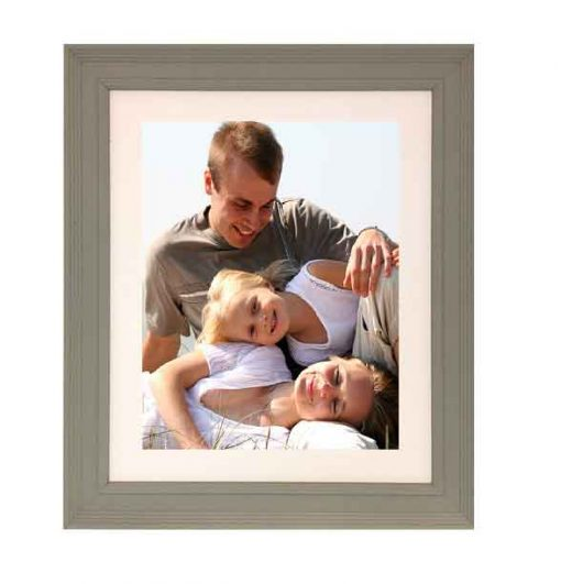 Tivoli Picture Frame Grey colour with family image